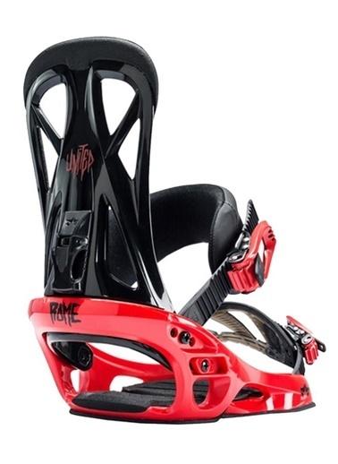 Rome Snowboard Bağlaması Kırmızı